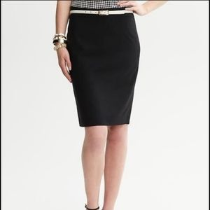 Like new BR fully lined wool pencil skirt